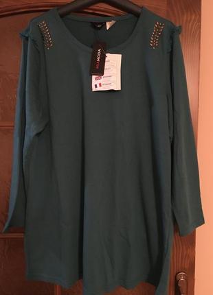 Тёпленький пуловер miamoda 50