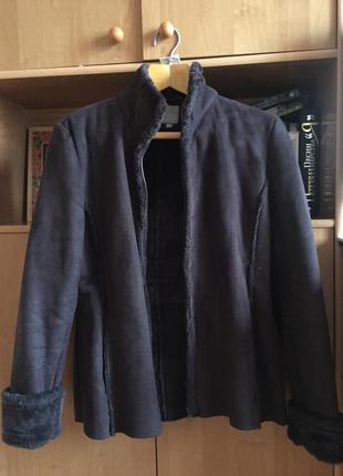 Дубленка куртка икусственная tu