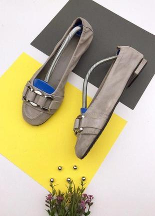 Замшевые очень мягкие туфли kennel&schmenger
