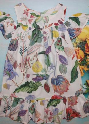 Шикарное платье h&m на 4-6лет