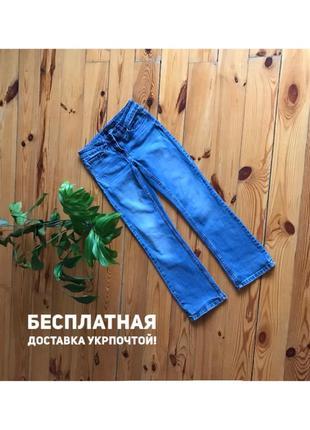 Идеальные укорочённые голубые джинсы стрейч next. размер 8/36/s