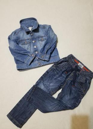 Джинсовая куртка джинсовка стильная