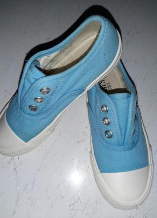 -слипоны-тапочки для девочки masrks spenser. 29 размер