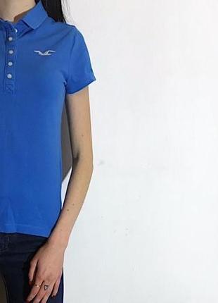 Женская футболка поло hollister