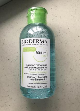 Мицеллярный лосьон bioderma