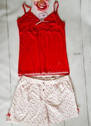 Комплект майка и шорты,размер хl бренд penye mood