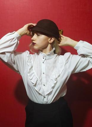 Красивейшая винтажная блуза