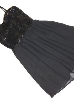 Платье с пайетками crazy world 44-46