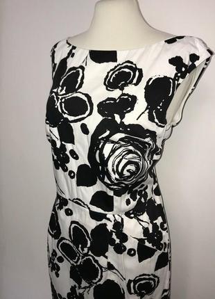 Элегантное платье футляр р.м hobbs london стрей коттон