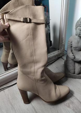 Базовые кожаные сапоги