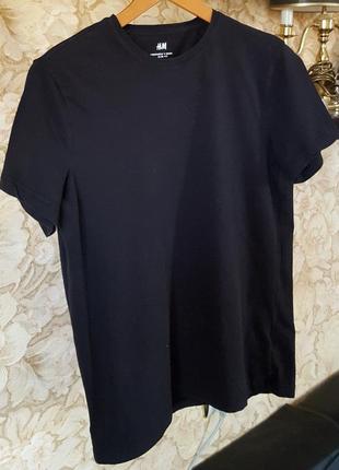 Эластичная футболка h&m