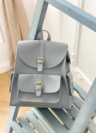 Рюкзак голубой 2