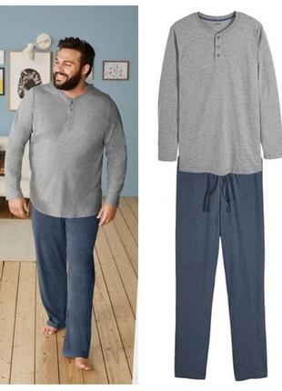 Большой размер мужская пижама костюм для дома 68-70