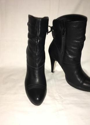 Ботинки *5-th avenue * кожа германия р.38 ( 25.20 см)