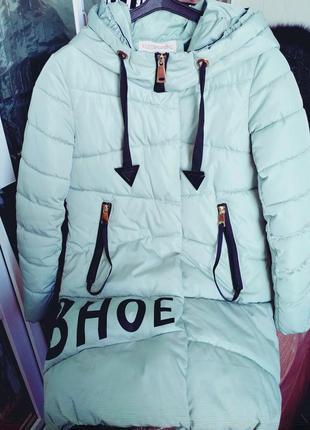 Курточка демисезонная удлиненная