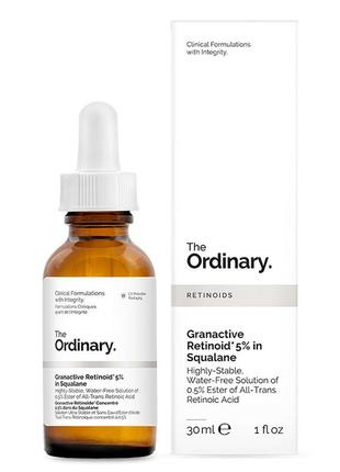 Сыворотка granactive retinoid 5% in squalane the ordinary