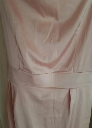 Шелковое платье4 фото