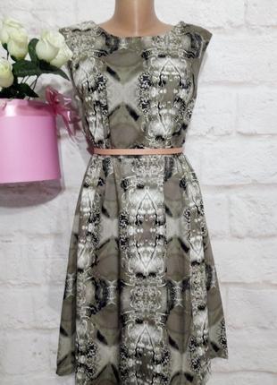 Платье миди новое  коттоновое элегантное р 24 george большой размер!