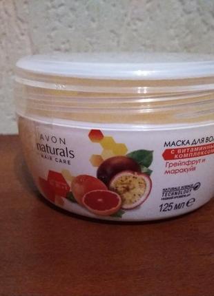 Маска для волос avon  с витаминным комплексом, 125 мл