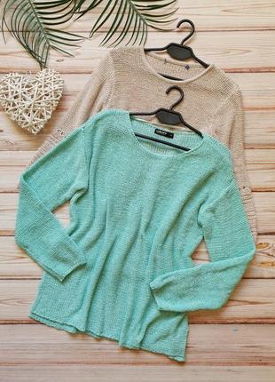 Крутой акриловый свитер в сттле оверсайз