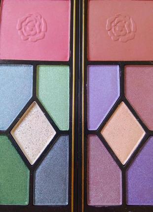 Цветные яркие тени руби роуз палетка палитра теней набор для макияжа косметика