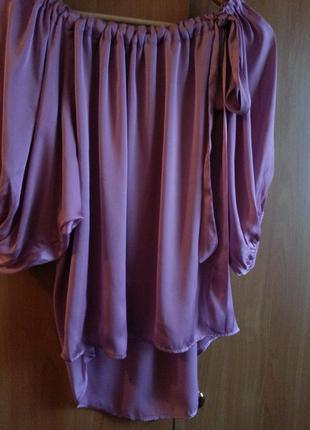 Шелковая,нарядная блузочка для беременных от vila clothes.