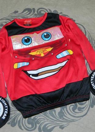Детский карнавальный костюм тачки молния маквин на мальчика 1-2 года george disney pixar
