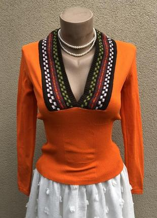 Трикотаж кофточка,джемпер,пуловер,дизайнер,amaya arzuaga,вискоза