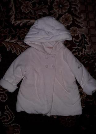"""Курточка, детская ,,brums"""" пальто на рост 74см."""