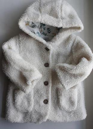 Пальто на 6-9-12 мес