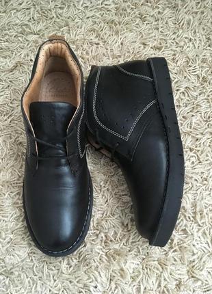 Ботинки кожаные clark's