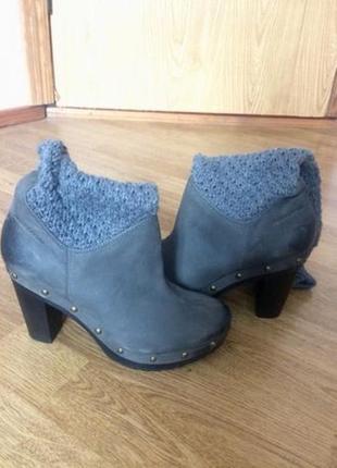 Продам ботильоны(ботинки, сапоги, сапожки) marc'o polo новые р. 35