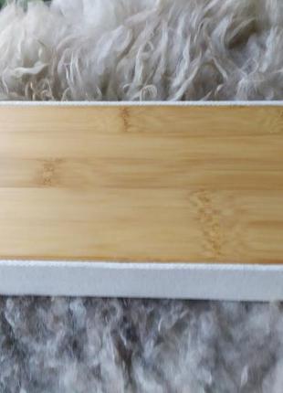 Шкатулка бамбук для ювелирных изделий / для мелочей с зеркалом4 фото