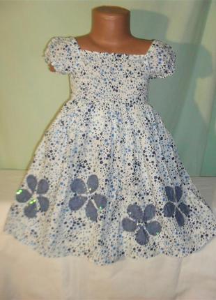 Платье на 3-4годика и дольше