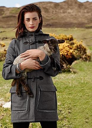 Шерстяное пальто-дафлкот tcm tchibo 50-52
