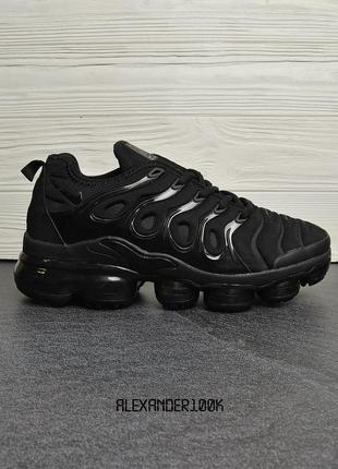 Крутые мужские кроссовки air vapor max plus ! распродажа последних размеров -70%