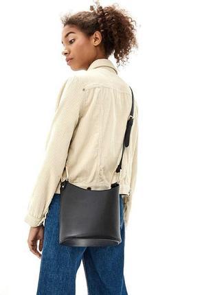 Dorothy perkins новая стильная сумка ведерко кросс боди через плечо