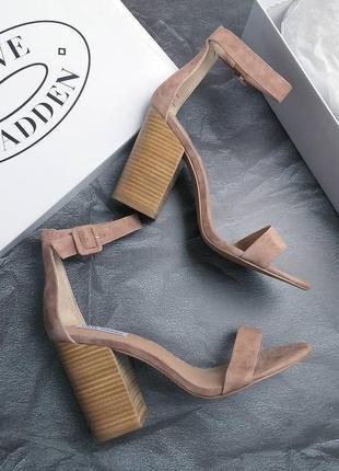 Steve madden оригинал босоножки на широком каблуке