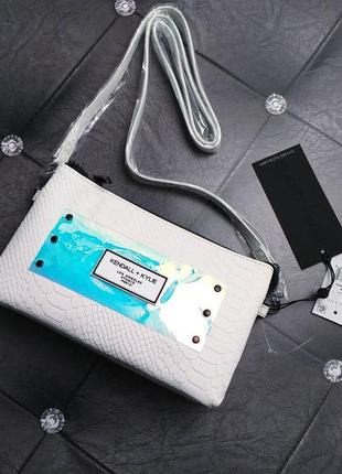 Kendall+kylie оригинал маленькая сумочка кроссбоди белая