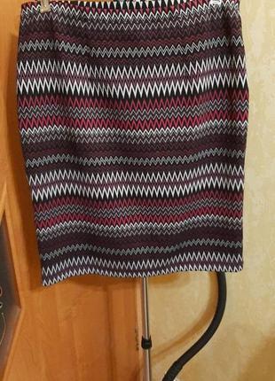 Трикотажная юбка 16 размер