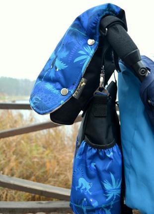 Очень теплые муфты для колясок премиум принтам джунгли. много расцветок!