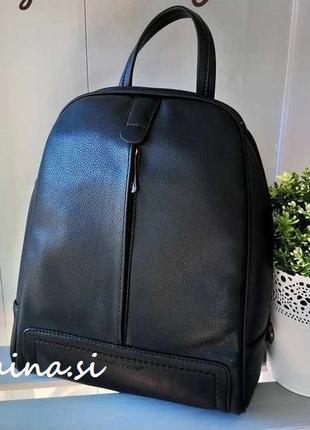 Рюкзак david jones cm3905t/cm5433t black черный оригинал городской рюкзачок