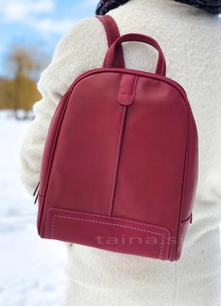 Рюкзак david jones cm3905t/cm5433t d. red красный оригинал городской рюкзачок
