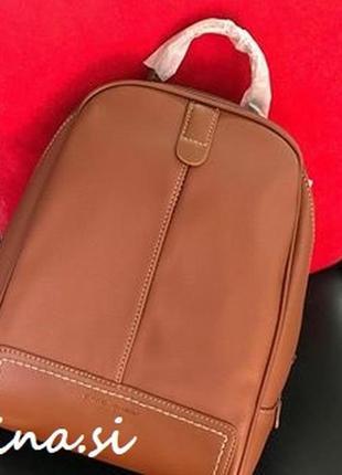Рюкзак david jones cm3905t/cm5433t brown коричневый оригинал городской рыжий