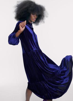 Бархатное платье,шикарный фасон и цвет