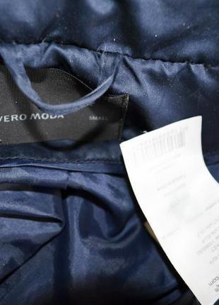 Очень классное мягусенькое дутое пальтишко на синтепоне фирмы vero moda3