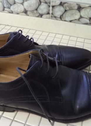 Bally кожанные туфли 43р
