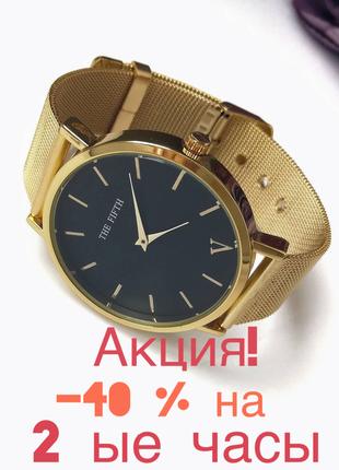 Часы годинник в стиле rosefield-40% на 2ые часы. акция!