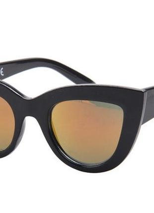 Солнцезащитные очки cat eyes  кошачий глаз