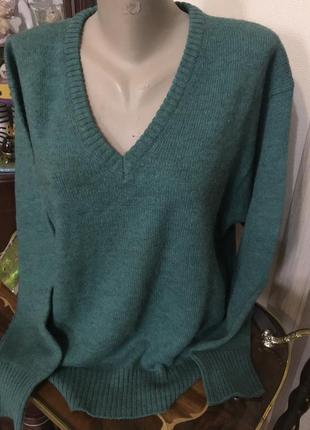Классный свитер, джемпер , италия, шерсть альпака!